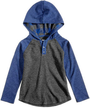 Epic Threads Hooded Henley, Little Boys (4-7), Created for Macy's