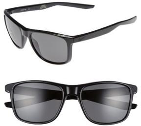 Men's Nike Unrest 57Mm Sunglasses - Black/ Matte Black