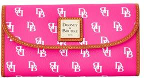 Dooney & Bourke Gretta Continental Clutch Wallet - FUCHSIA - STYLE