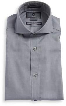 Black & Brown Black Brown Slim-Fit Non-Iron Cotton Dress Shirt