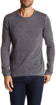 Autumn Cashmere Ribbed Trim Cashmere Sweater