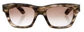 Saint Laurent Tinted Marbled Sunglasses