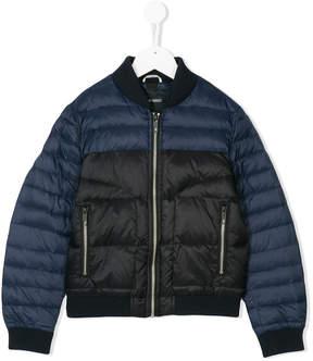 Antony Morato bicolour puffer jacket
