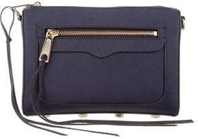 Rebecca Minkoff Textured Leather Bag - BLUE - STYLE