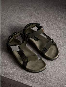 Burberry Three-point Strap Ripstop Sandals