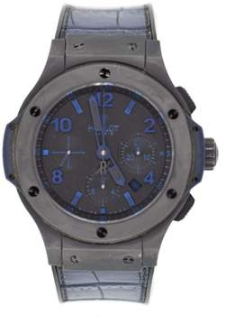 Hublot Big Bang 301.CI.1190.GR.ABB09 Ceramic & Leather Automatic 44mm Mens Watch