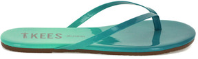 TKEES Blends Leather Flip Flop