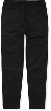 Fanmail Slim-Fit Organic Cotton-Twill Drawstring Trousers