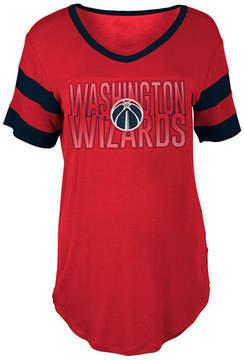 5th & Ocean Women's Washington Wizards Hang Time Glitter T-Shirt