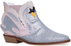 Stella McCartney Lily Swan Ankle Boots