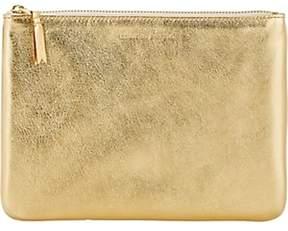 Comme des Garcons Women's Large Zip Pouch - Gold