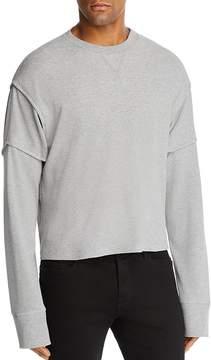 Helmut Lang Military Cocoon Thermal Crewneck Long Sleeve Shirt