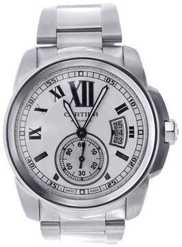 Cartier Calibre W7100015 Stainless Steel 42mm Men