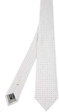 Armani Collezioni Men's White Silk Tie.