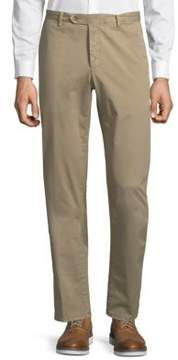 Luciano Barbera Flat Front Trousers