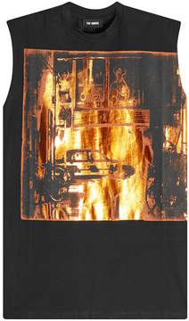 Raf Simons Printed Cotton Tank