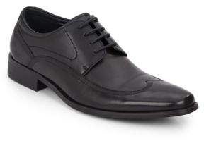 Kenneth Cole Reaction Turn Signal Leather-Blend Oxfords