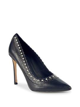 Pour La Victoire Women's Cerella Leather Pumps