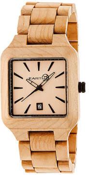 Earth Wood Arapaho Khaki Bracelet Watch with Date ETHEW3601
