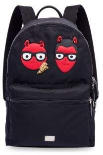 Dolce & Gabbana Embroidered Backpack