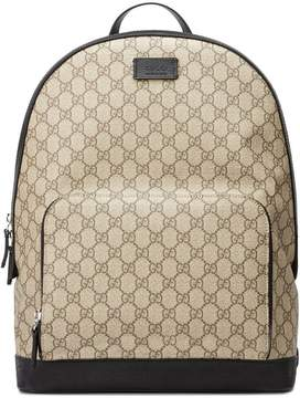 Gucci GG Supreme backpack - NUDE & NEUTRALS - STYLE