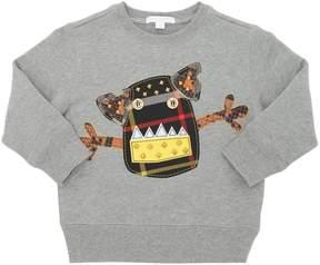 Burberry Monster Patch Cotton Sweatshirt