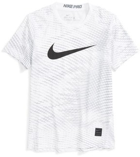 Nike Boy's Pro Dry Fitted Logo T-Shirt