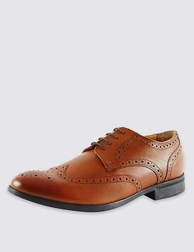 Marks and Spencer Leather Brogue Shoes with AirflexTM