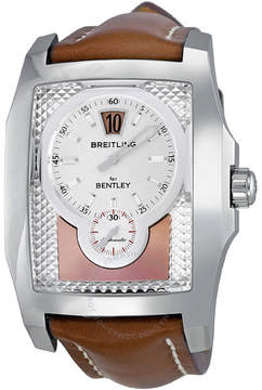Breitling Bentley Flying B Jumping Hour Amber Dial Men's Watch