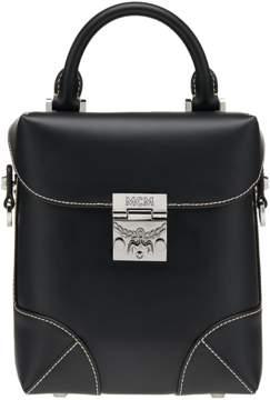 MCM Soft Berlin Crossbody In Vachetta Leather