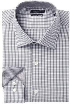 Tailorbyrd Check Print Trim Fit Dress Shirt