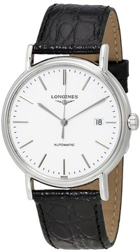 Longines Presence White Dial Automatic Men's Watch