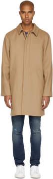 A.P.C. Beige Auster Mac Coat