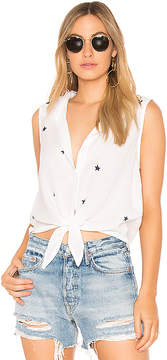 Bella Dahl Sleeveless Tie Front Shirt