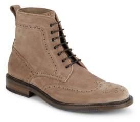 Aquatalia Leather Ankle Boots