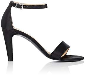 Barneys New York WOMEN'S SATIN ANKLE-STRAP SANDALS