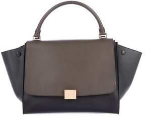 Celine Tricolor Medium Trapeze Bag
