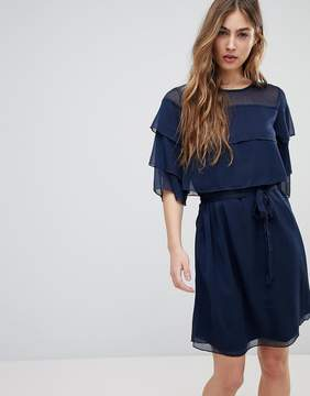 Blend She Cecile Layered Frill Dress