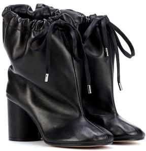 Maison Margiela Oversized leather ankle boots