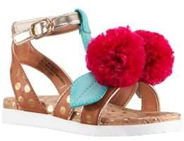 Nina Kyeleigh Pom Flower Sandal
