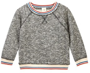 Tucker + Tate Striped Rib Sweatshirt (Baby Boys)