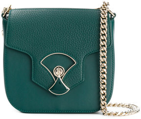 Bulgari twist lock fastening crossbody bag