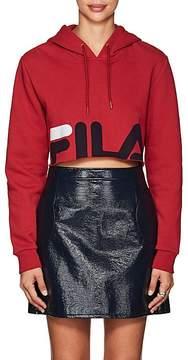 Fila Women's thedrop@barneys: Logo Cotton-Blend Crop Hoodie