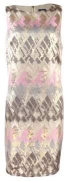 Vince Camuto Women's Printed Sleeveless Sheath Dress