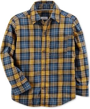 Carter's Plaid Cotton Shirt, Little Boys (4-7) & Big Boys (8-20)