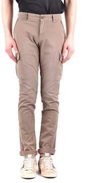 Mason Men's Brown Cotton Jeans.