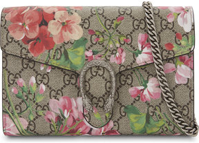 Gucci Dionysus GG Supreme floral-print wallet-on-chain - BLOOMS PINK - STYLE