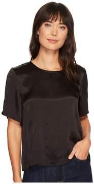 Lilla P Back Zip Top Women's Clothing