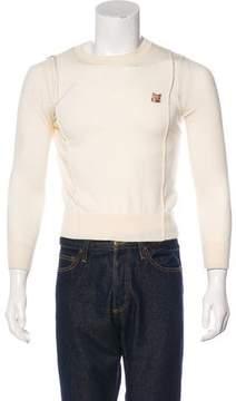 MAISON KITSUNÉ Wool Crew Neck Sweater