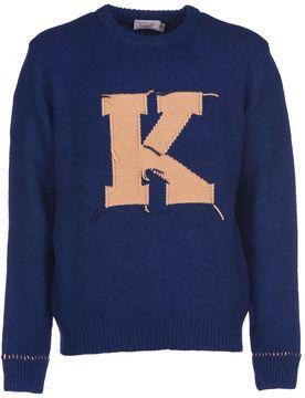 Kitsune Maison Letter Pullover